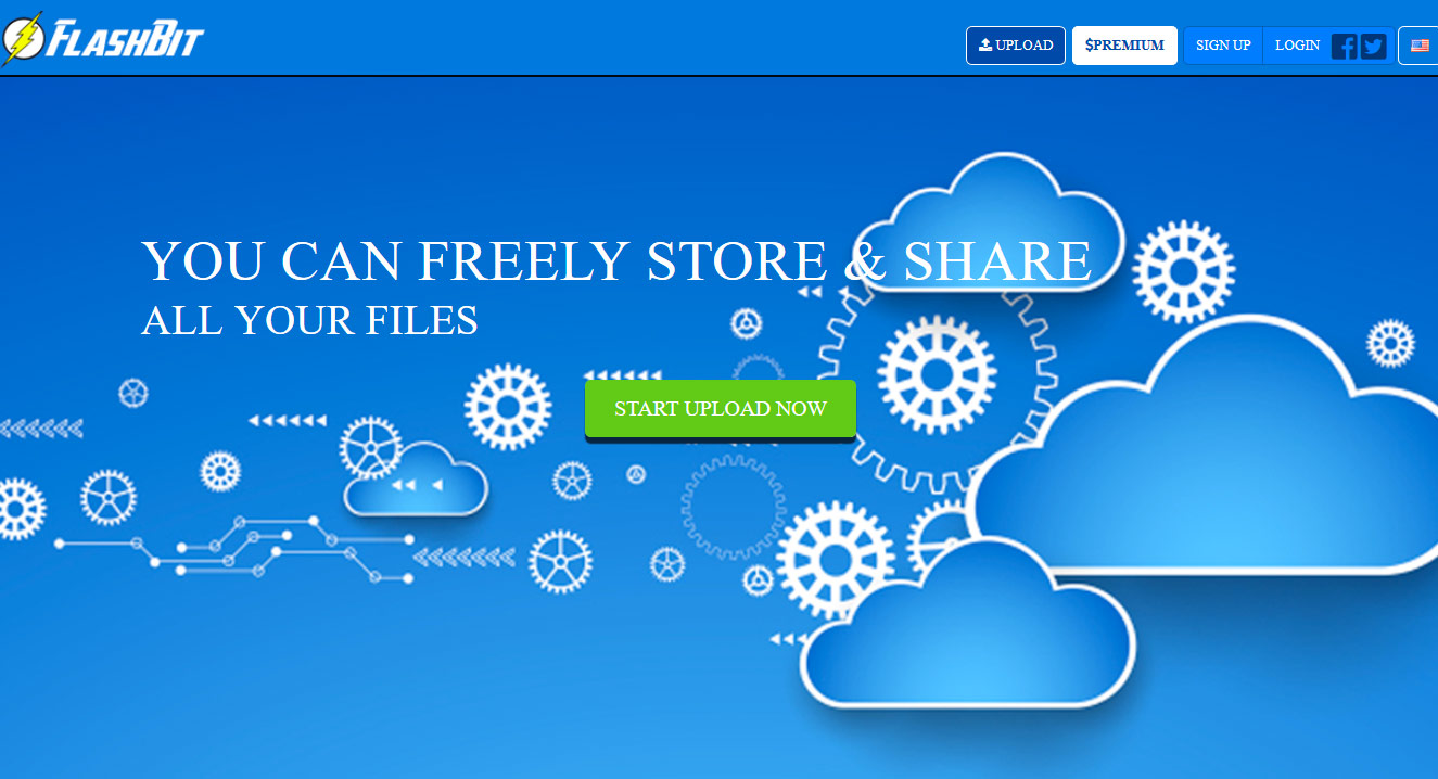 Flashbit homepage