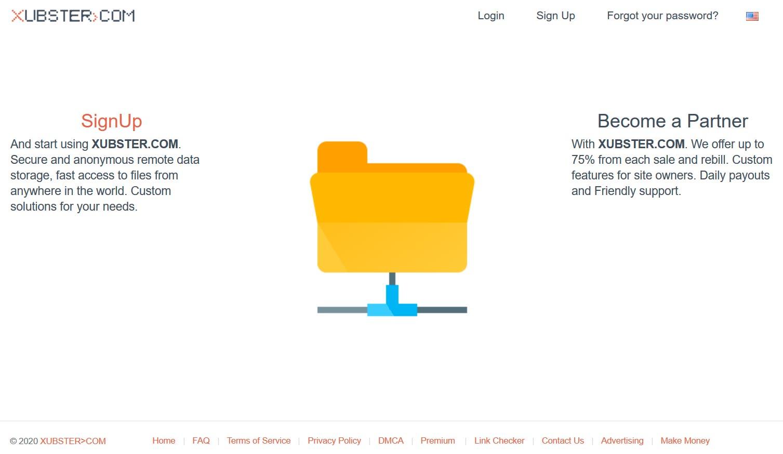 Xubster Homepage